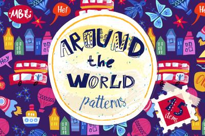 Around the world patterns.