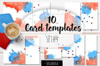 Card templates set #4