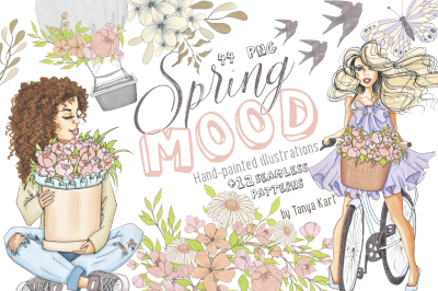 Spring Mood Design Kit