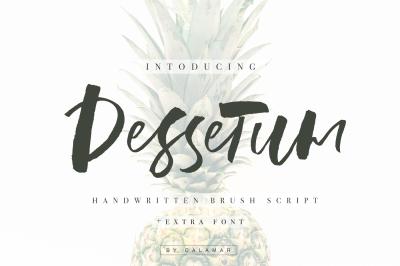Dessetum Font