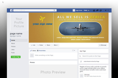 Travel FB Cover Template