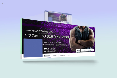 Fitness FB Cover Template