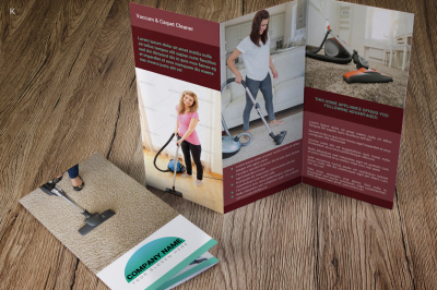 Home Appliances Trifold Template