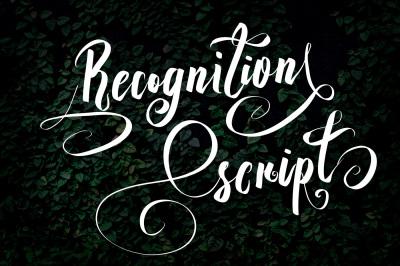 Recognition Script