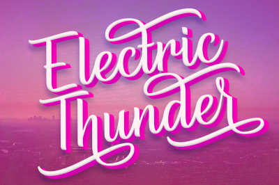 Electric Thunder - The Lightning Script