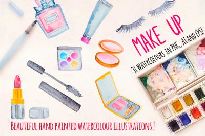 Make up Cosmetics Watercolor Kit