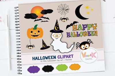 Halloween Clipart Set   Halloween Graphics