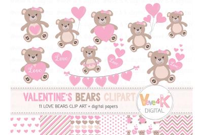 Love Bears Clipart | Teddy Bears Clipart