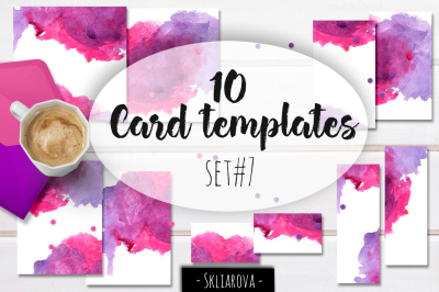 Card templates set #7
