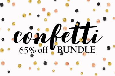 Confetti Bundle 65% OFF!