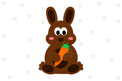 Easter Bunny Carrot SVG
