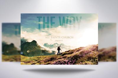 The Way Of Faith Church Flyer