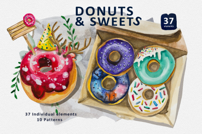 Donuts & Sweets Collection