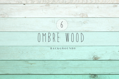 Ombre wood backgrounds
