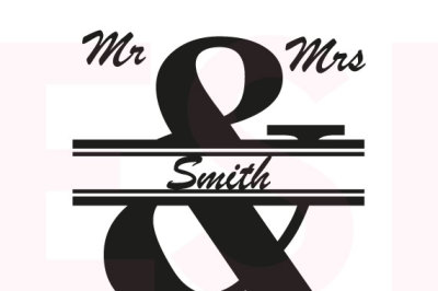 Mr and Mrs Split Ampersand