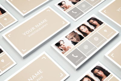 Business Card Template 014 Photoshop
