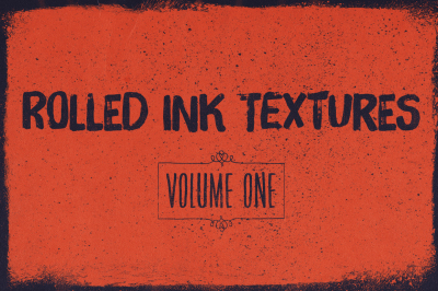Rolled ink textures volume 01