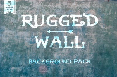 Rugged Wall Background Set