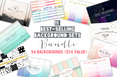 Best-selling backgrounds Bundle