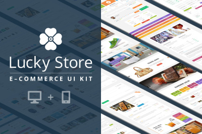 Lucky Store: Ecommerce UI Kit
