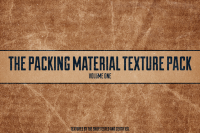 Packing material textures volume 01