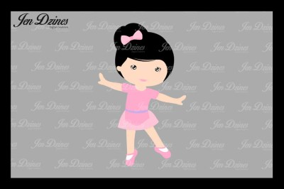 BallerinaSVG DXF EPS PNG file