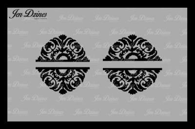 Split Flower SVG DXF EPS PNG