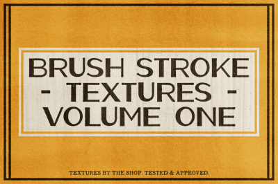 Brush stroke textures volume 01