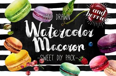Delicious watercolor DIY Mega Pack