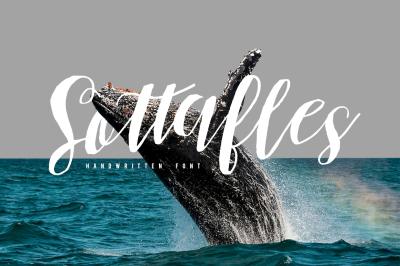 Sottafles Typeface + Swashes