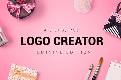 Feminine Logo Creator