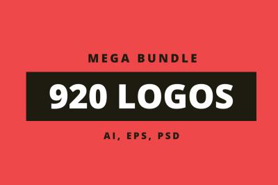 920 Logos Mega Bundle