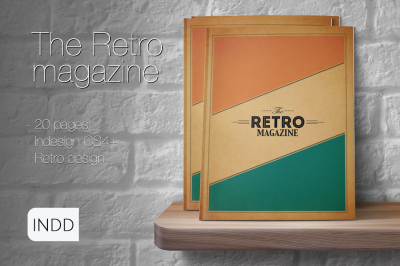 The Retro MGZ Indesign Template