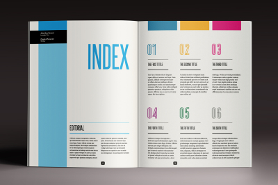 Next Magazine Indesign Template