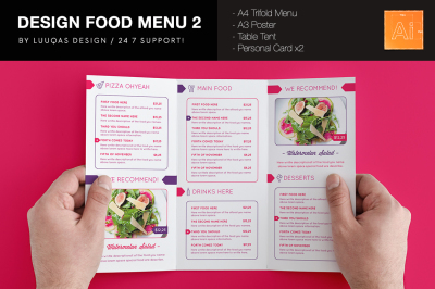 Design Food Menu 2