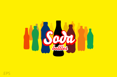 Soda Bottles | Vector
