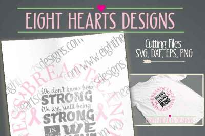 Breast Cancer Strong Design