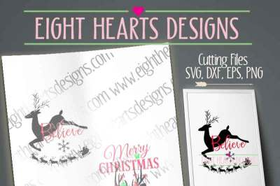 Christmas Deer Designs 2 Combo Pack