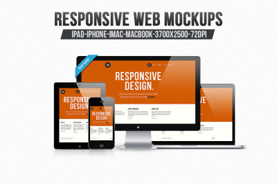 12 Responsive Web Mockups