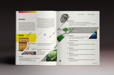 Design Magazine 4 Indesign Template