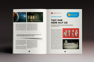Design Magazine 5 Indesign Template