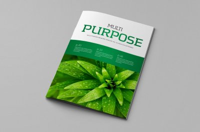 Indesign Magazine Template v.02