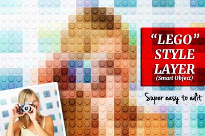 Lego Style Effect