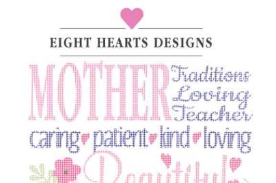 Mothers Day - Mom Love - SVG DXF PNG EPS Cutting Design