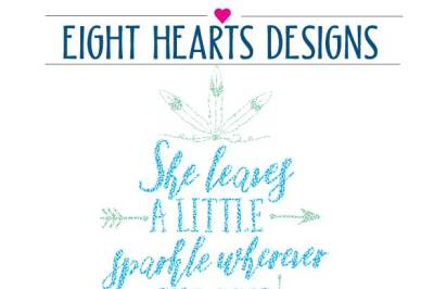 She leaves a little sparkle wherever she goes SVG PNG EPS DXF Cutting File