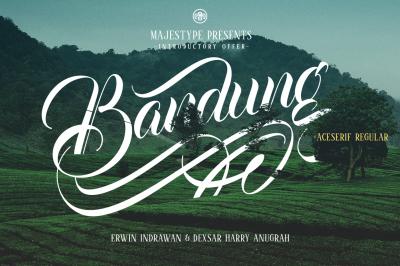 Bandung + Aceserif
