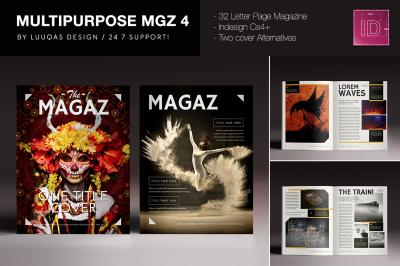 Multipurpose Magazine 4 Indesign Template