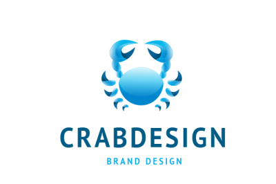 Crab Design Logo