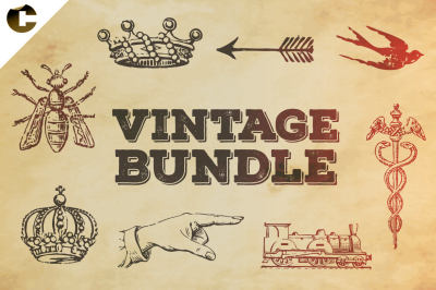 Vintage Bundle Symbols