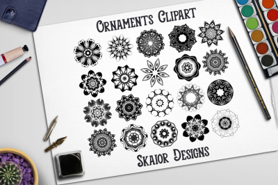 Ornaments Clipart